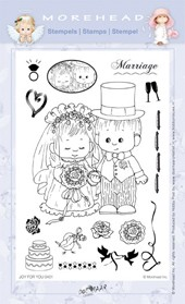 Clearstamp Morehead,  You&Me Marriage, 10x15 cm