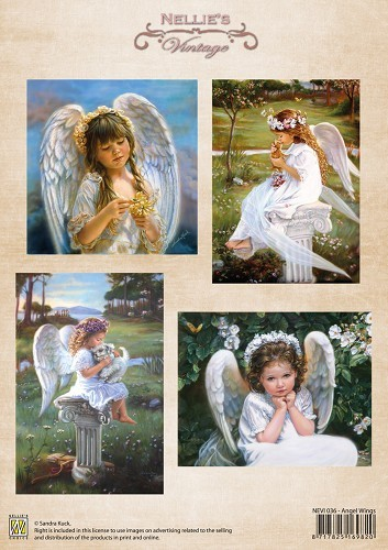 Vintage - Angel Wings