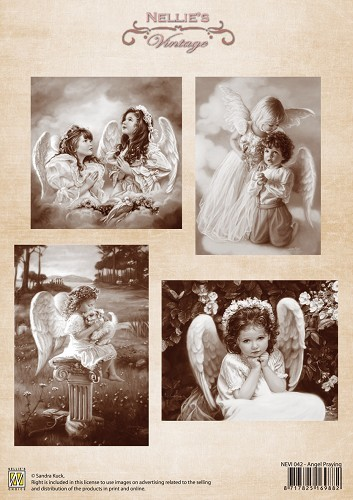 Vintage - Angel Praying