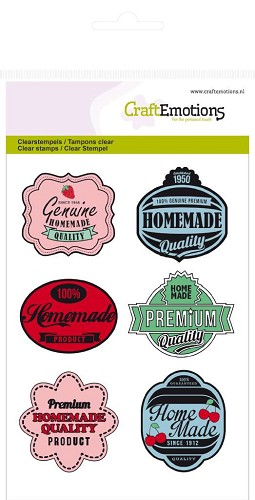 clearstamps A6 - labels Fifties Kitchen