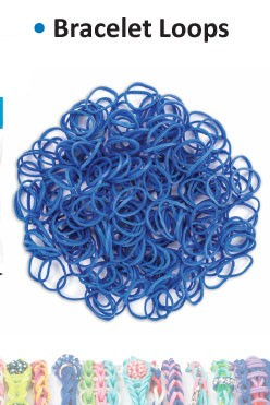 Bracelet loops royal blue