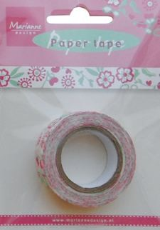 Paper tape sweet garden party
