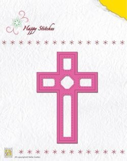 Stitching Dies Happy Stitches cross