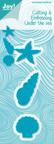 Cutting & Embossing stencil - Under the sea