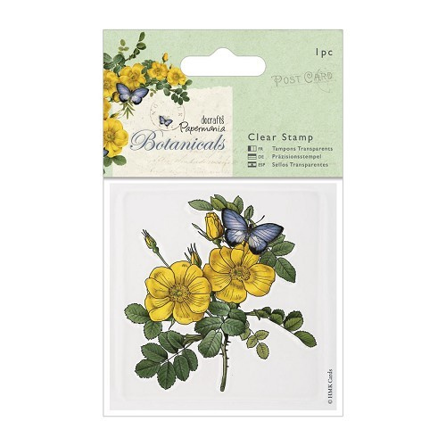 Clear Stamps - Botanicals - Wild Rose