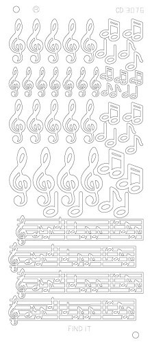 Music Notes Platinum