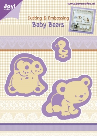 Cutting & Embossing stencil - Baby Bears (3st)