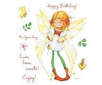ScrapBerry`s Set Of Clear Stamps Fairy Birthday