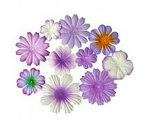 ScrapBerry`s Mini-Flowers Set Lilac