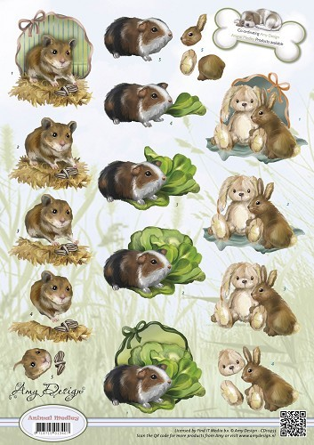 Amy Design - Animal Medley - Rodents