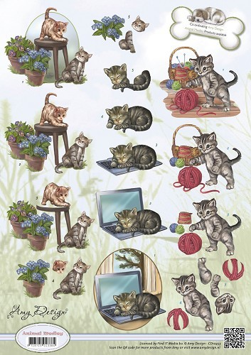 Amy Design - Animal Medley - Felines