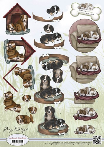 Amy Design - Animal Medley - Mans best friend