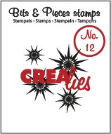 Crealies Clearstamp Bits&Pieces no. 12 Stars