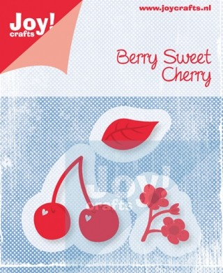 Cutting & Embossing stencil (3st) - berry sweet cherry