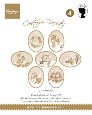 Card toppers sepia favourites Els