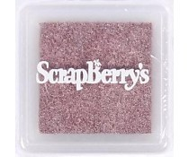 ScrapBerry`s Pigment Ink Pad Silver Red