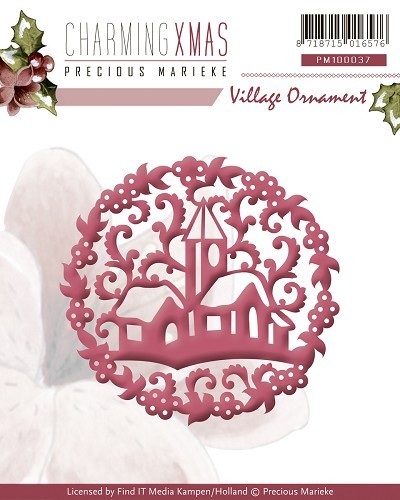 Precious Marieke - Charming Xmas - Village Ornament