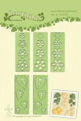 Lea'bilitie Small flowers & leaves snij en embossing