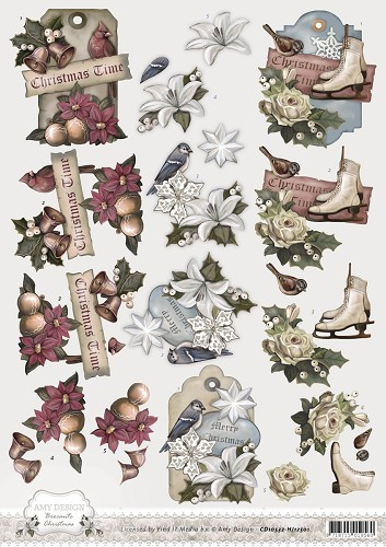 Amy Design - Brocante Christmas - Christmas labels
