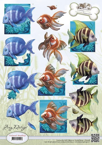 Amy Design - Animal Medley - Tropical Fish