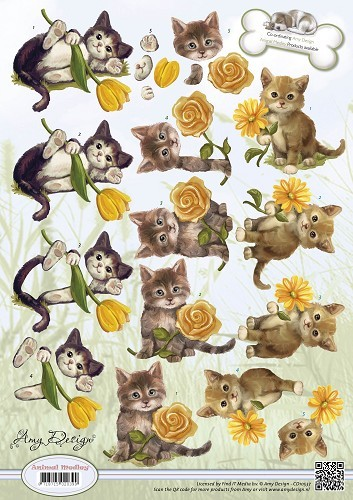 Amy Design - Animal Medley - Kittens