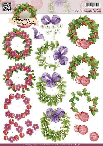 Jeanines Art - Christmas Wreaths