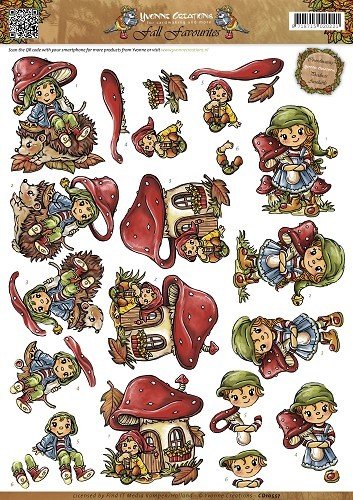 Yvonne Creations - Fall Favourites - Sweet Gnomes