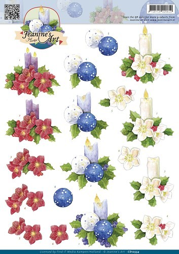 Jeanines Art - Christmas Candles
