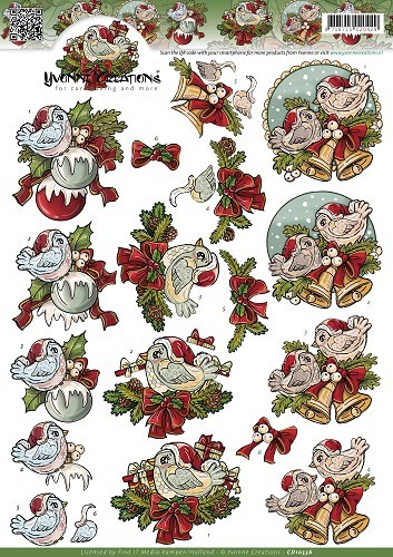 Yvonne Creations - Christmas Tweety