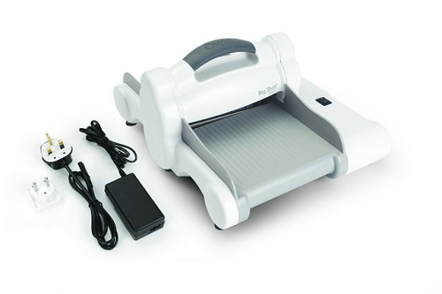 Sizzix Big Shot Express Machine Only White & Grey 660850