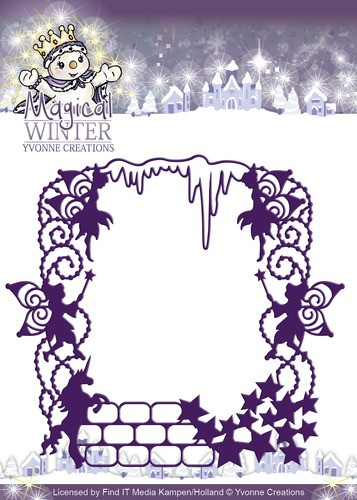 Yvonne Creations - Magical winter - Magical Frame