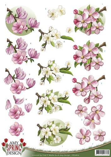 Amy Design - Spring - Flowers