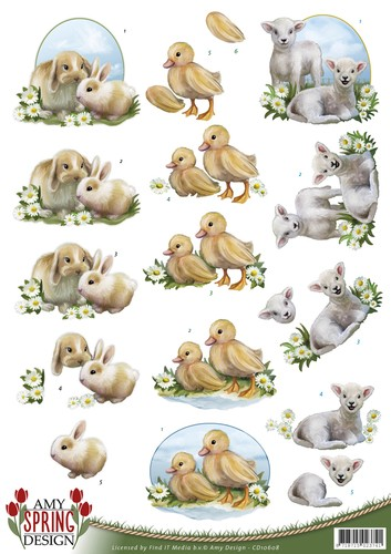 Amy Design - Spring - Animals