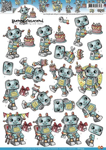 Yvonne Creations - Robots