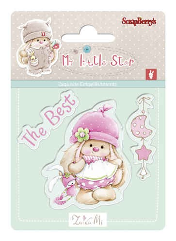 Bunny My Little Star - Set of stamps (7*7cm) -  Best Bunny