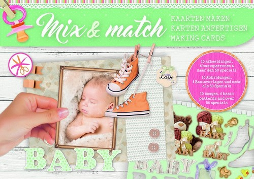 Studio Light Mix&Match making cards A5 Baby - nr 01