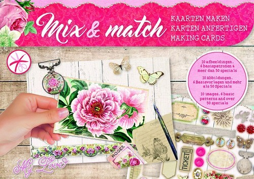 Studio Light Mix&Match making cards A5 My Love - nr 02