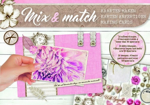 Studio Light Mix&Match making cards A5 With Sympathy - nr 04