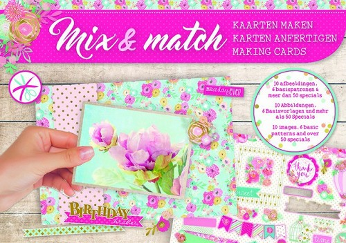 Studio Light Mix&Match making cards A5 Birthday wishes -nr 05