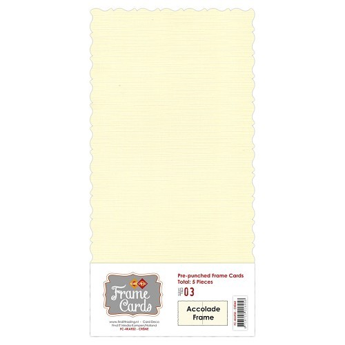 Frame Cards - Accolade - Vierkant -creme