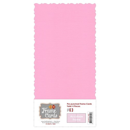 Frame Cards - Accolade - Vierkant -roze