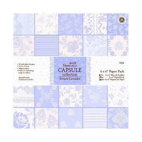 6 x 6 Paper Pack (32pk) - French Lavender