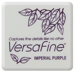 Versafine ink pads small Imperial purple