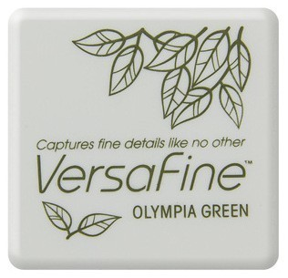 Versafine ink pads small Olympia Green