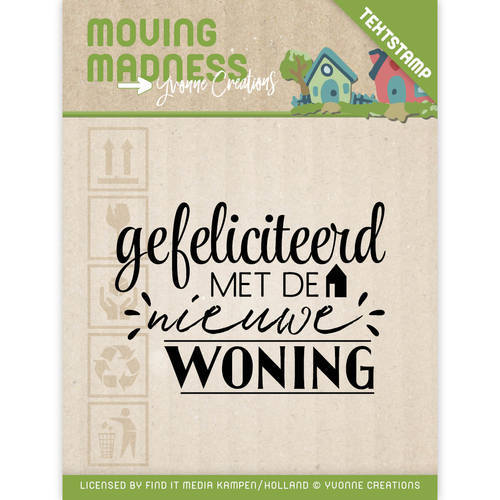 Clearstamp - Yvonne Creations - Moving Madness