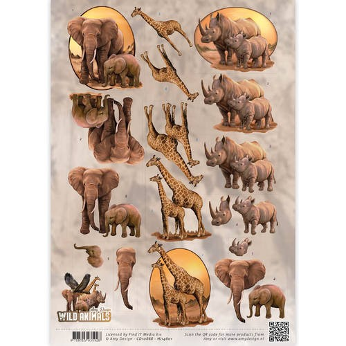 Amy Design - Wild Animals - Big Five 2