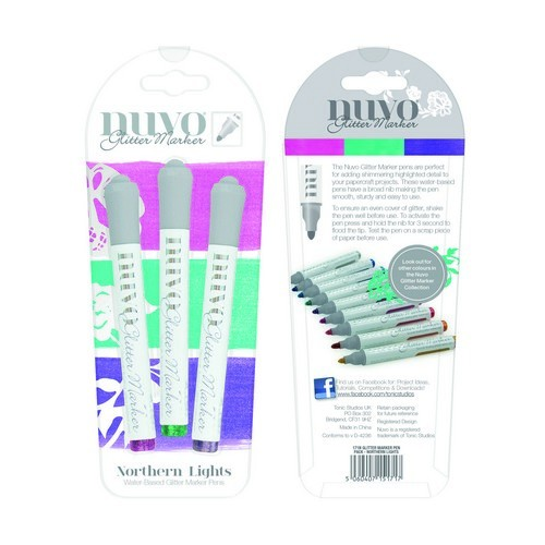 Nuvo glitter markers - northern lights
