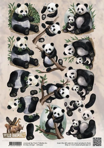 Amy Design - Wild Animals - Pandas
