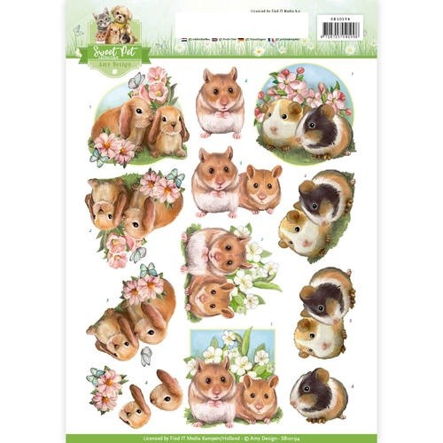 Amy Design - Pets- rodents