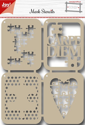 Scrap Polybesastencil -Carpe Diem